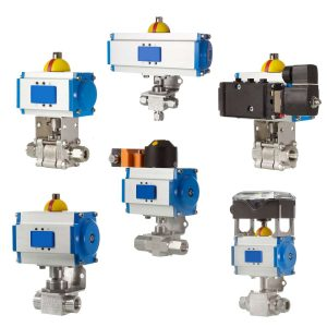 Actuated Valve assemblies